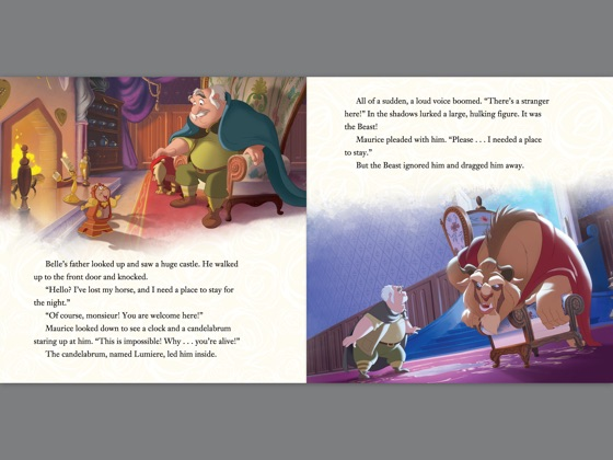 Beauty And The Beast Story Book