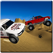 4x4越野驾驶3D极端沙漠赛跑2016年