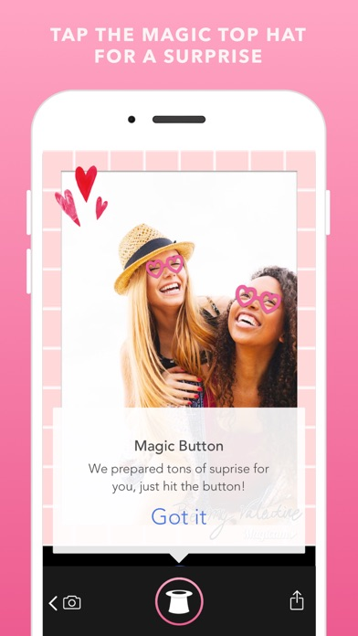 Download Magicam - Free Valentine Camera for Couple Selfies for Pc