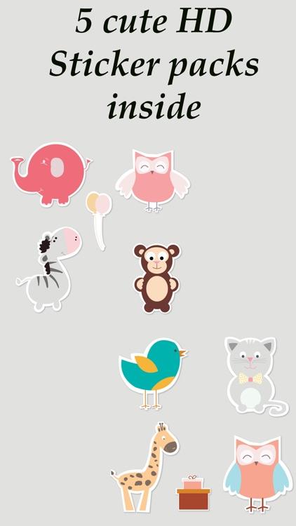 Toonimal - Toon animal Stickers