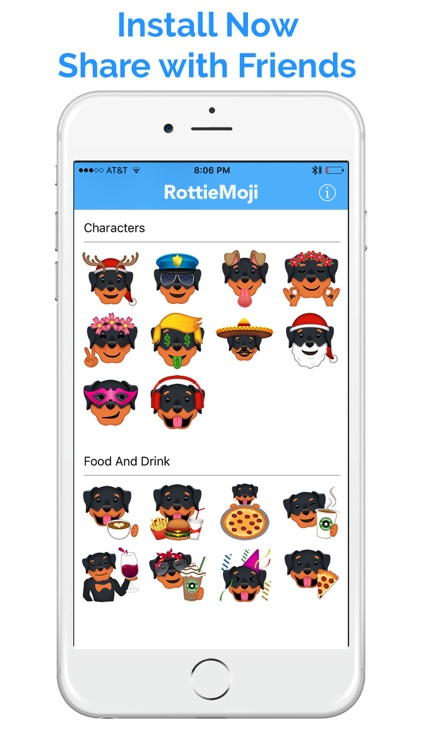RottieMoji - Rottweiler Emojis and Stickers screenshot-4