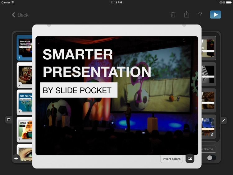 SlidePocket - Presentation and Slideshow Maker
