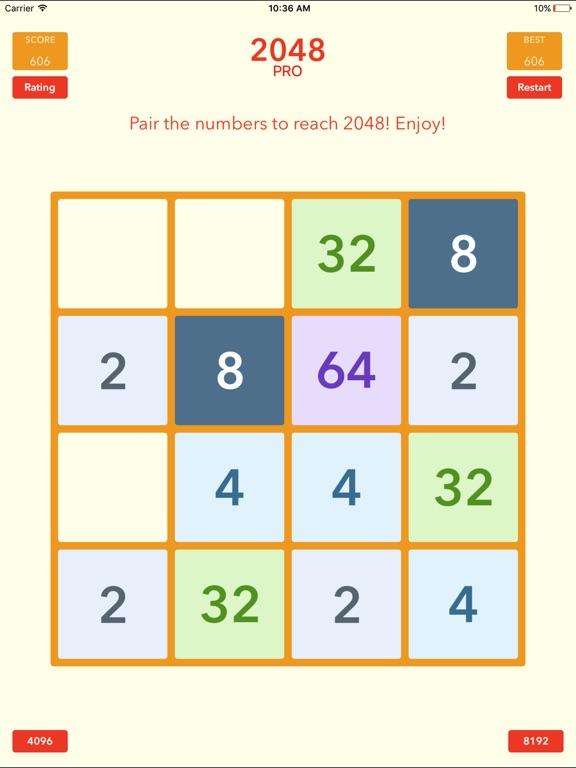Screenshot #3 for 2048 Tile Pairing Challenge - Professional Version