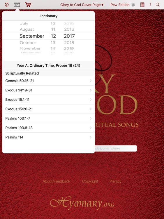 Glory to God: Hymns, Psalms, & Spiritual Songs