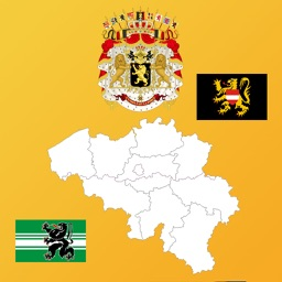 Belgium State Maps, Flags & Info
