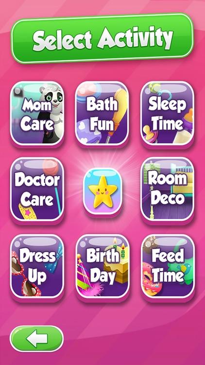 Sweet Baby Panda Day Care - for Kids Boys & Girls screenshot-4