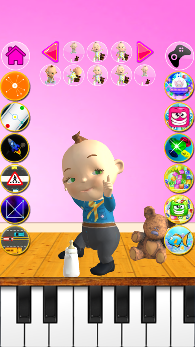 Talking Babsy Baby review screenshots