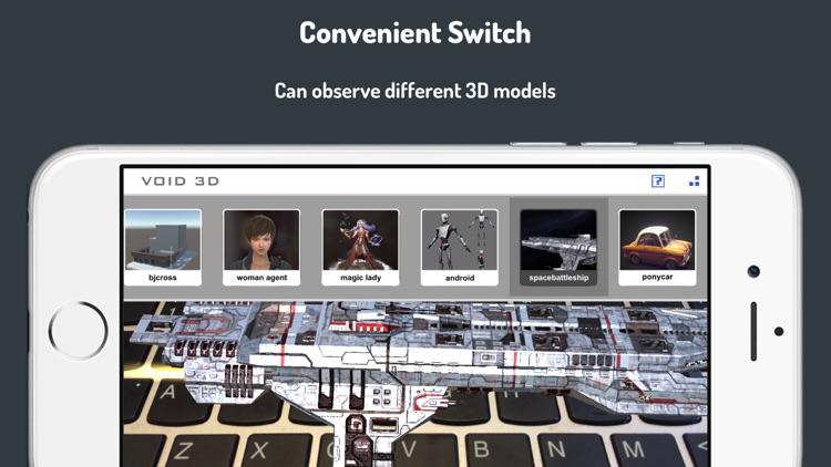 VOID 3D-3D Model AR Viewer screenshot-3