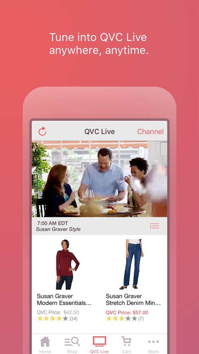 QVC for iPhone Screenshot