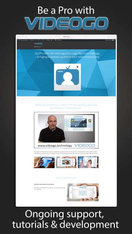Logo2Go - Logo Burner & Video Watermark screenshot-4
