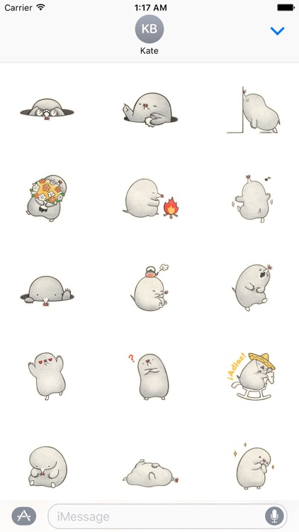 The Mole Stickers