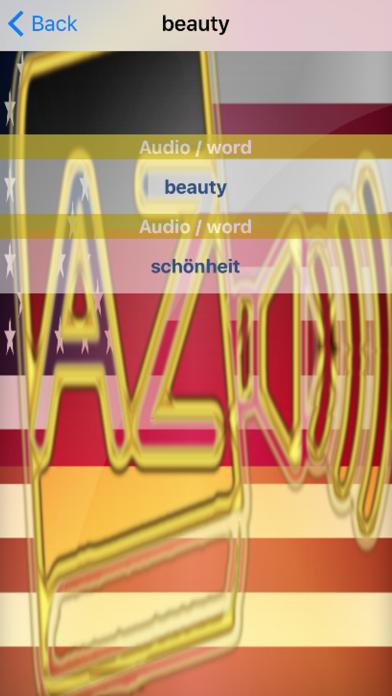 German Dictionary GoldEdition screenshot 5