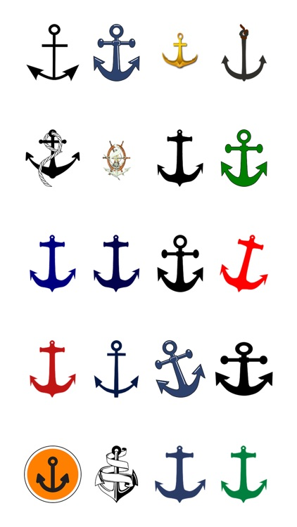 More Anchors Two Sticker Pack
