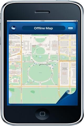 Washington D.C. DC USA - Offline Maps Navigator - náhled