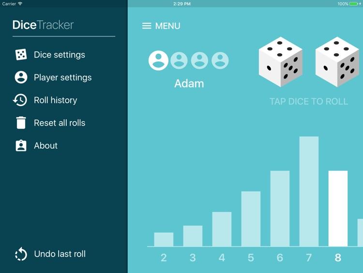Dice Tracker