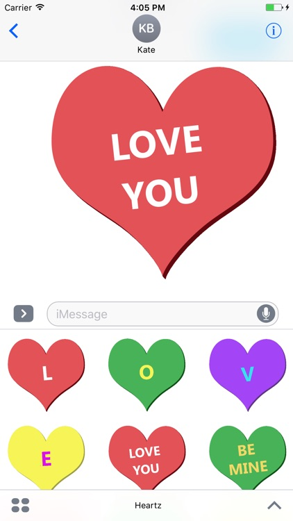 Heartz - Valentine's day candy hearts!