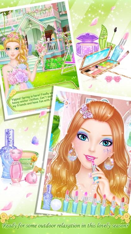 Tina's Diary: Spring Outing screenshot-1
