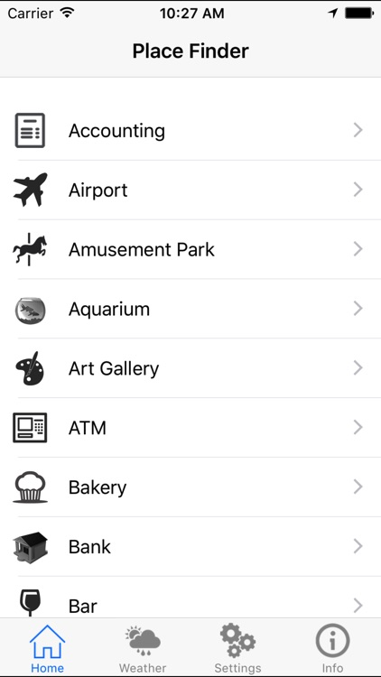 Quick Place Finder - A Near By Places Around Me