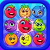 Frenzy Fruits Toy Match - Super blast 3 heroes