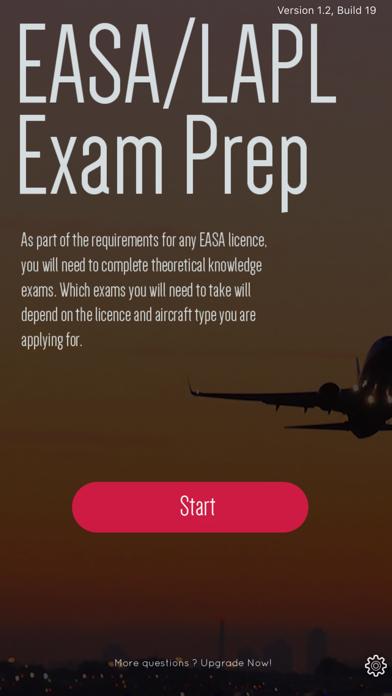 EASA Pilot Exam Prep (LAPL) screenshot one