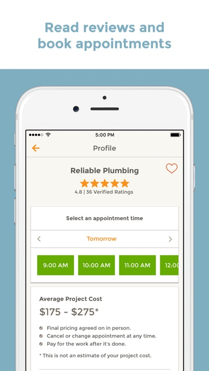 HomeAdvisor - Find & Book Top-Rated Home Pros screenshot-4