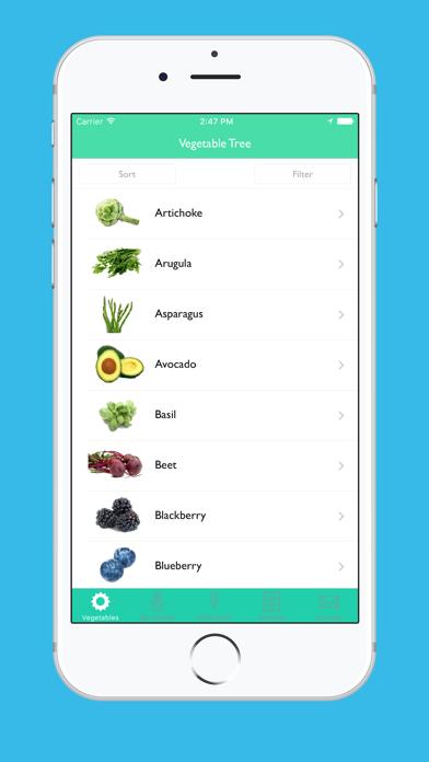 Vegetable Tree - Gardening Guide screenshot