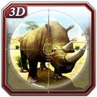 Chasseur de rhinocéros et simulateur chasse aux icon