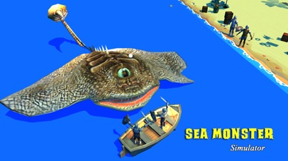 Sea Monster Simulator screenshot one