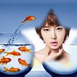 Fish Photo Frame - Best Photo Frame Editor