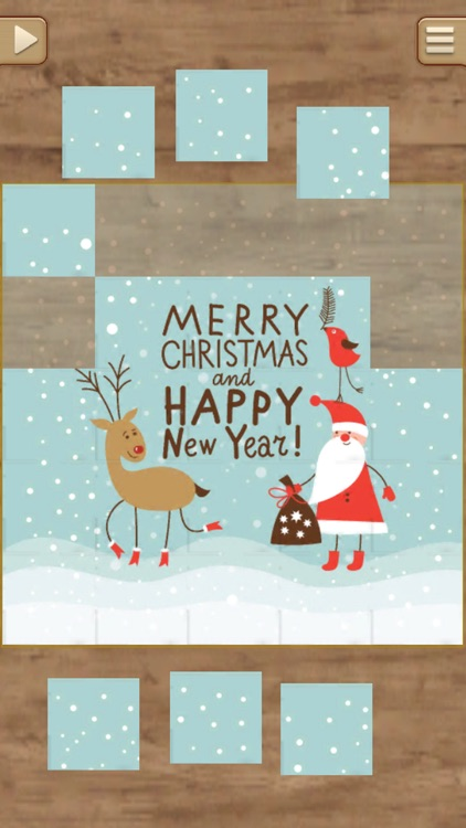 Christmas Greetings Puzzles - Real Jigsaw Puzzle screenshot-3