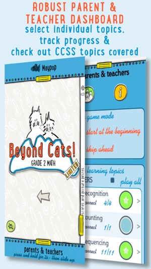 Beyond Cats! Math Practice Grades K,1 and 2 on the App Store