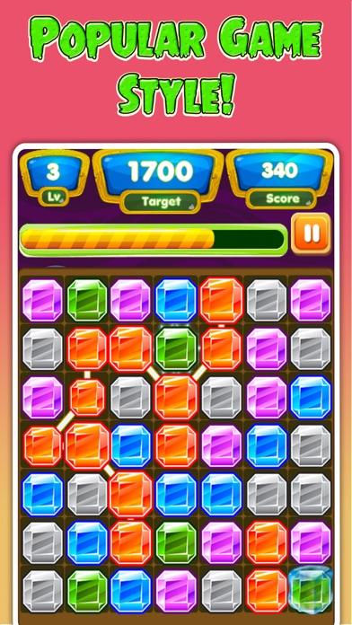 Gems Adventure - Connect Gems Dash Puzzle screenshot one