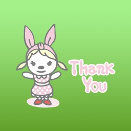 Blossom The Cute Little Rabbit Stickers