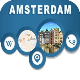 Amsterdam Netherlands Offiline Map Navigation