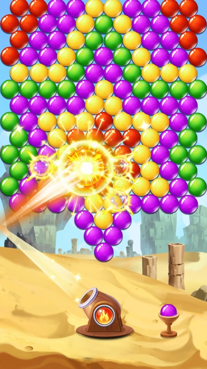 Bubble Shooter Burst