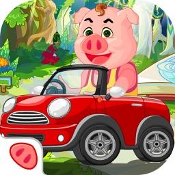 小猪佩奇赛车大冒险-宝宝极速飙车儿童游戏
