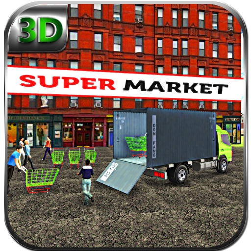 Supermarket Cart Transport & Cargo Delivery Truck iOS App