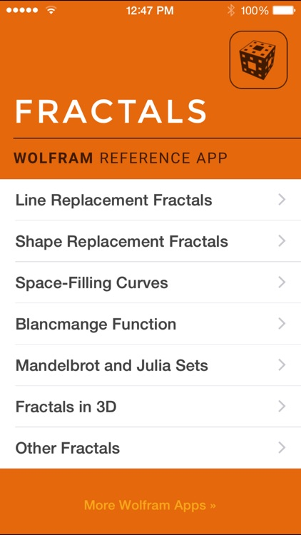 Wolfram Fractals Reference App screenshot-0