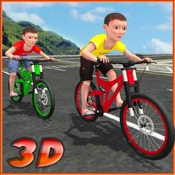 Kids Bicycle Rider Street Race 2017 3D