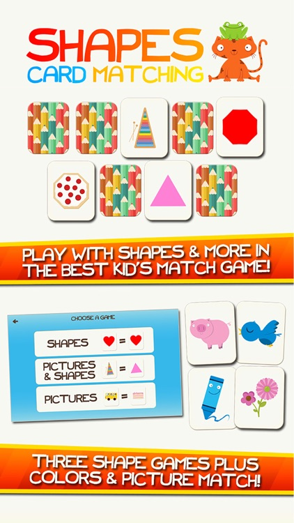 Shape Game Colors Free Preschool Games for Kids screenshot-0