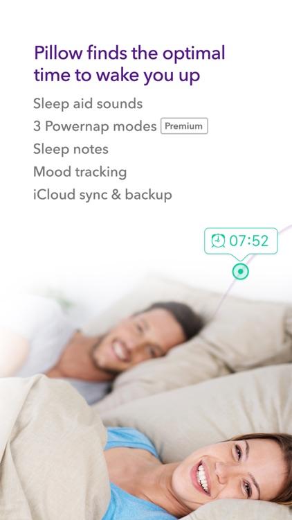 Pillow: Sleep tracking & analysis alarm clock app image