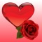 App Icon for Hearts & Roses to Love Stickers for iMessage App in Colombia IOS App Store