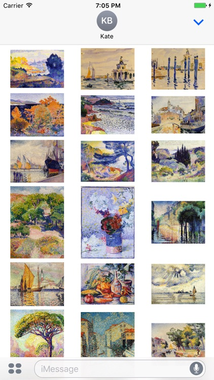Henri Edmond Cross Artworks Stickers screenshot-3