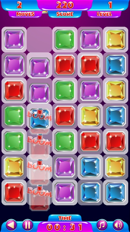 Magic Color Gems Crush : match 3 puzzle games by Tanit ...