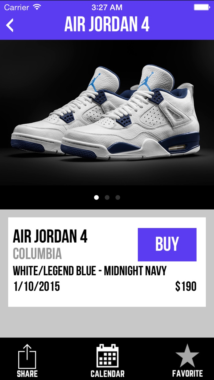 Sneaker Crush - Air Jordan & Nike Release Dates Screenshot