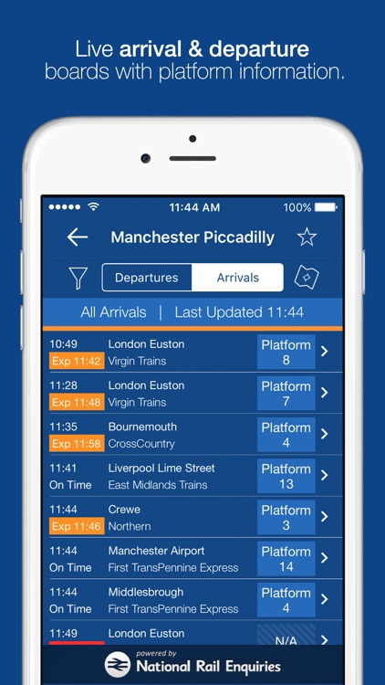 myTrains train times and tickets screenshot-4