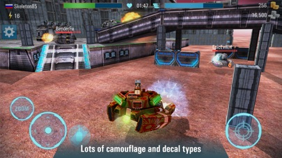 Iron Tanks: Battle online screenshot two