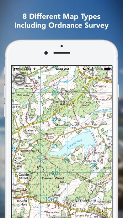 Outdoors GPS – Offline OS Maps Скриншоты5