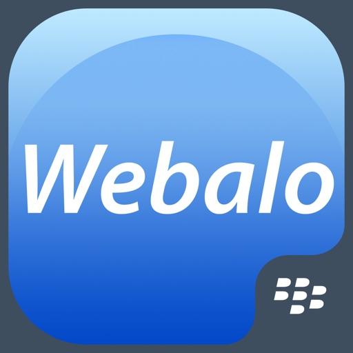 Webalo for BlackBerry