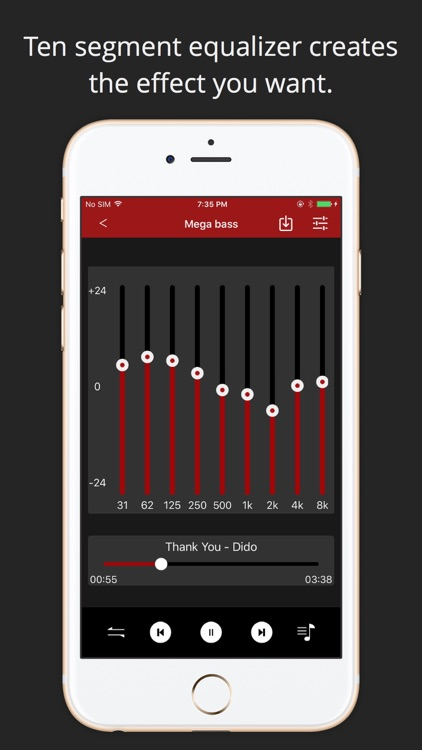 Music Equalizer +  – Sound Volume booster